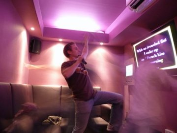 Danger: Karaoke is addictive