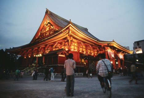 Sensoji at the heart of Asakusa