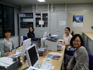 Left to right - Tomoko san, Tetsuko san, Miho san, Ayako san