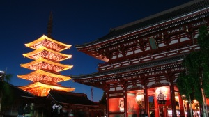 Asakusa at night