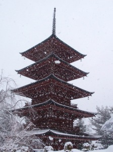 Beauty of Hirosaki in the snow