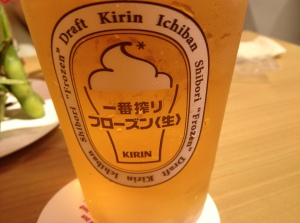Nice glass of Kirin