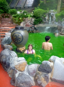 Green Tea onsen, Hakone