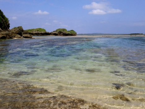 Crystal clear Iriomote waters
