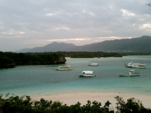 Kabira Bay at dawn