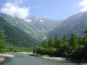 Kamikochi  by day