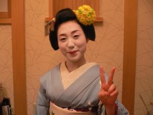 Geisha selfie