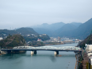 View from the top of Inuyama castle
