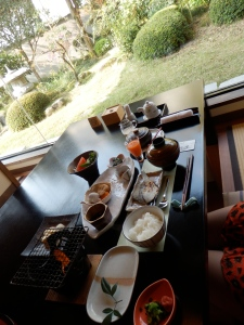 Breakfast at Kifu no Sato