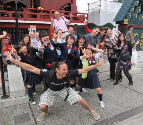Tour Group at Sensoji