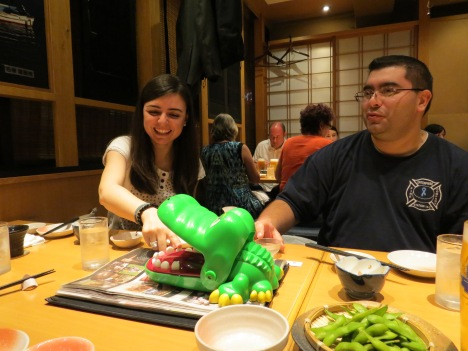 Cultural experiences in an izakaya...