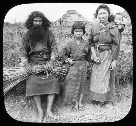 Ainu family in 1906
