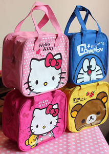 Hello Kitty, Doraemon & Rilakkuma lunchbags