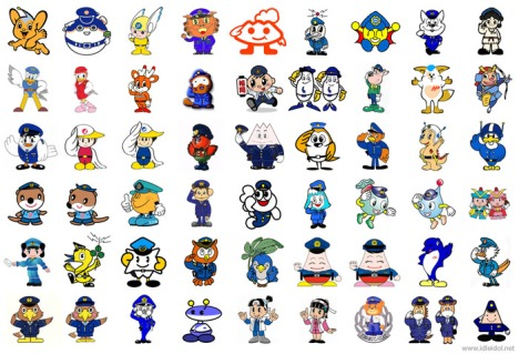The police force mascots of Japan: one for every prefecture