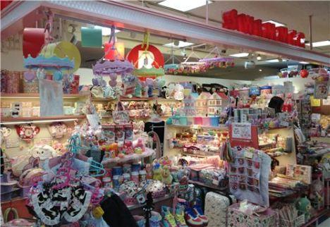Shelves at Sunshine City in Tokyo