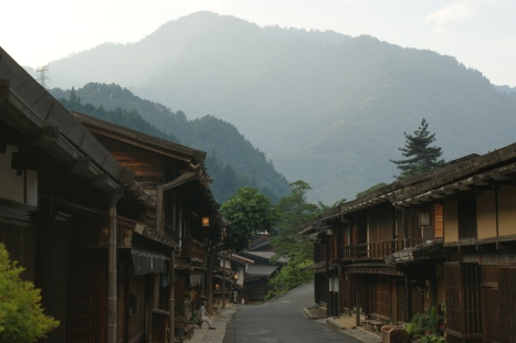 …then the serenity of the Kiso valley in less than 12 hours