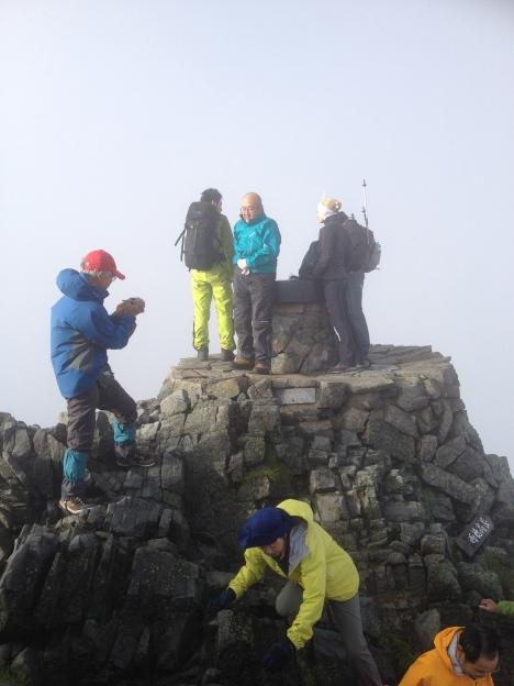 Okuhotaka Summit - Japan's 3rd highest at 3190m.