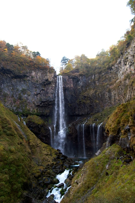 Kegon Falls in Nikko National Park