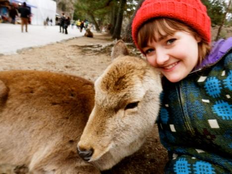 My deer selfie, taken in Nara earlier this year