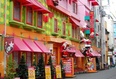 Hotel Chapel Christmas, Osaka (photo: www.weirdandwonderfulhotels.com)