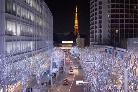 Tokyo in lights