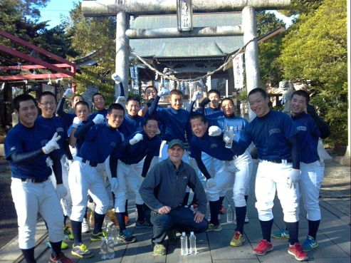 Ishinomaki High School Baseball team - playing for lost schoolmates