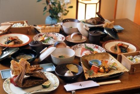 Ryokan feast
