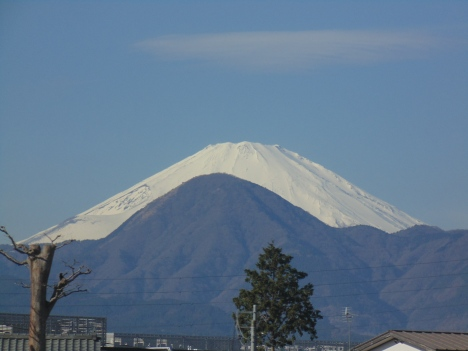 Mount Fuji seen from Hakone National Park