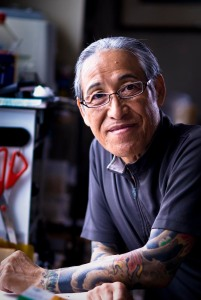 Horiyoshi III: a former gang member and one of Japan's greatest living tattoo artists.