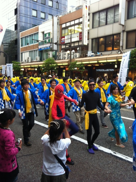 The Hyakumangoku Festival - A traditional event... mostly!