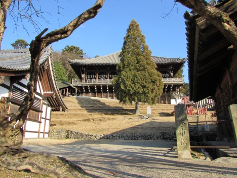 I recommend swinging by the Nigatsu-do, one of Todai-ji's sub-temples. It has a balcony on stilts that gives a great view over Nara Park...