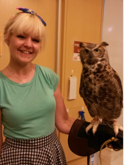 This one was the daddy. Or mummy, it's hard to sex an owl.
