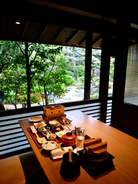 Breakfast at the Ryokan Kurashiki