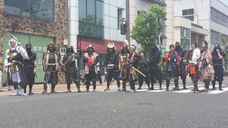 The Peron Festival Parade.