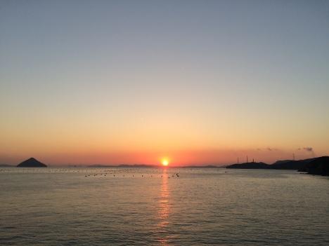 Sunset over the Seto Inland Sea