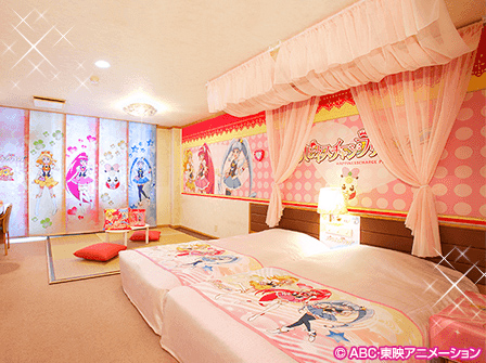 DokiDoki Precure room (Pic courtesy of Ikenotaira Hotel)
