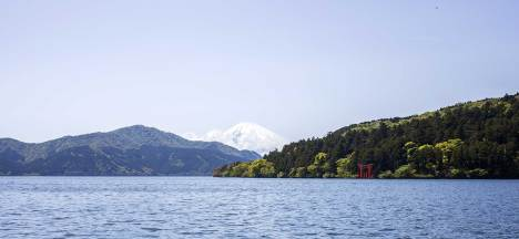View across Lake Ashi, Hakone