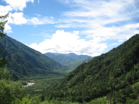Kamikochi in summertime