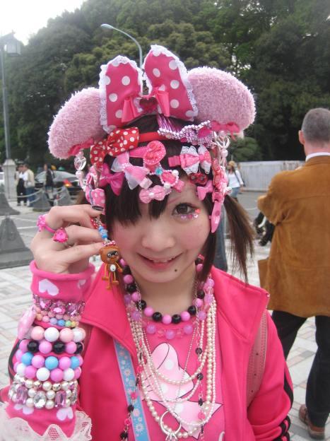 Teenager in Harajuku