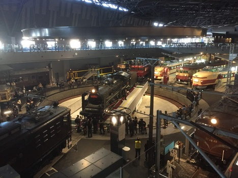 The railway museum at Omiya Station